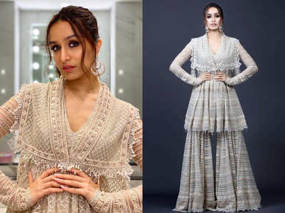 Shraddha Kapoor's sharara is the HOTTEST outfit this Diwali