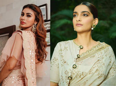 From Mouni Roy to Sonam Kapoor: 5 festive blouses to rock Diwali