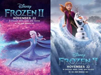 'Frozen 2': Makers unveil characters posters