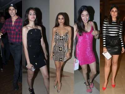 B'town celebs attend Malaika's birthday bash
