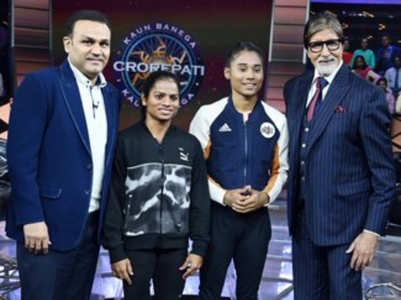 Big B resumes shoot of KBC 11