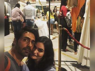 "Arjun Rampal is ""proud"" of his love Gabriella"