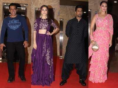 Celebs attend Ramesh Taurani's Diwali bash