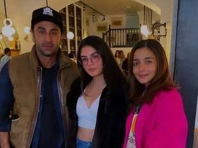 Alia-Ranbir is having a great time in London!