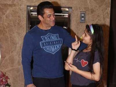 Salman takes selfie with his little fan