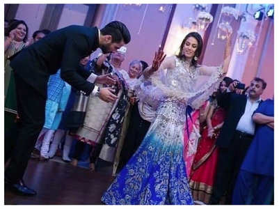 Unseen pics from Shahid-Mira's wedding
