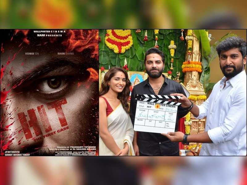 Vishwak Sen and Ruhani Sharma's next titled 'Hit'