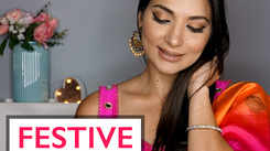 Festive eye make-up for Diwali