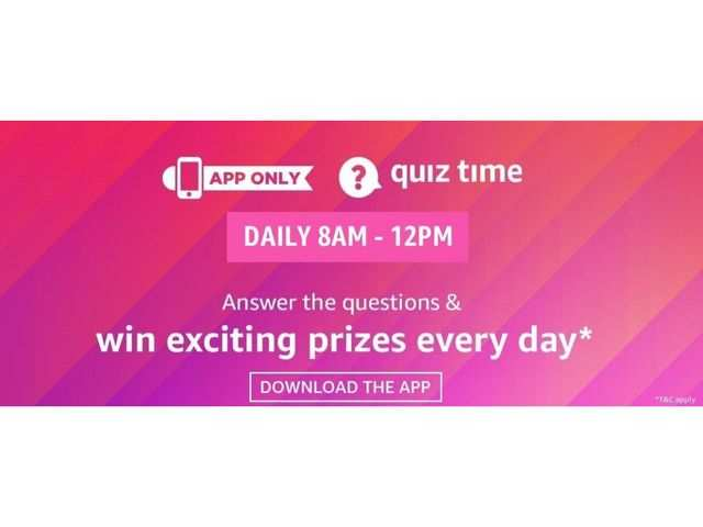 Amazon app quiz October 25, 2019: Answer these five questions to win Sony 5.1 Home theatre system for free