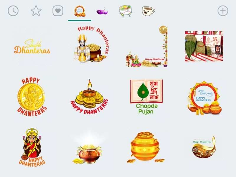 Dhanteras Whatsapp Stickers How To Download And Send Dhanteras