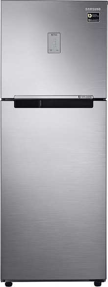 Samsung 253 L 4 Star Frost-free Double Door Refrigerator (RT28M3424S8/HL, Elegant Inox, Inverter Compressor)