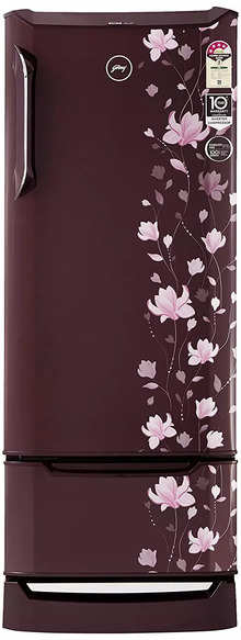 Godrej 255 L 4 Star Direct Cool Single Door Refrigerator (RD EDGE DUO 255 PD INV4.2 (Zinnia Wine)