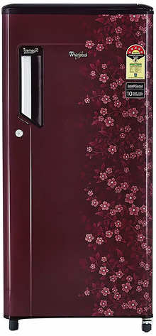 Whirlpool 185 L 5 Star Direct-Cool Single-Door Refrigerator (200 IMPWCool PRM 5S, Wine Exotica)