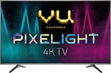 VU Pixelight 108cm (43 inch) Ultra HD (4K) LED Smart TV (43-UH)