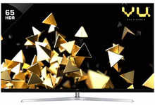 VU 163 cm (65 Inches) Quantum Pixelight 4K Ultra HDR Smart QLED TV 65HQ137 (Black) (2019 Model)
