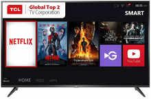 TCL 125.64 cm (50 inches) 4K Ultra HD Smart LED TV 50P65US (Black) (2019 Model) | Built-In Alexa