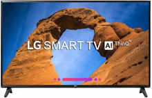 LG Smart 108cm (43-inch) Full HD LED Smart TV 2018 Edition (43LK6120PTC)