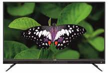 HOM 125 cm (49 Inches) 4K Ultra HD QLED Smart TV HOM4900QQ (Black) (2018 Model)
