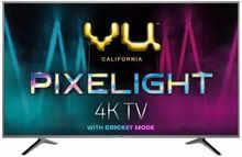 VU Pixelight 108cm (43 inch) Ultra HD (4K) LED Smart TV with Cricket Mode (43-UH)
