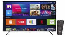 DAIWA 109 cm (43 inch) D43QUHD-N53 Quantum Luminit 4K Ultra HD LED Smart TV