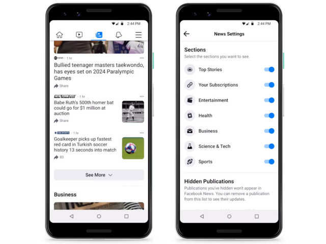 Facebook starts testing a new app to take on Google News, Apple News and others