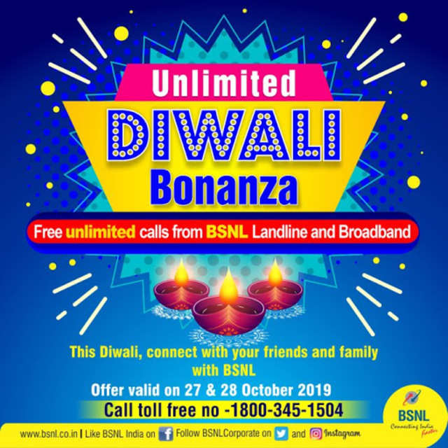 BSNL has Diwali 'gift' for its users