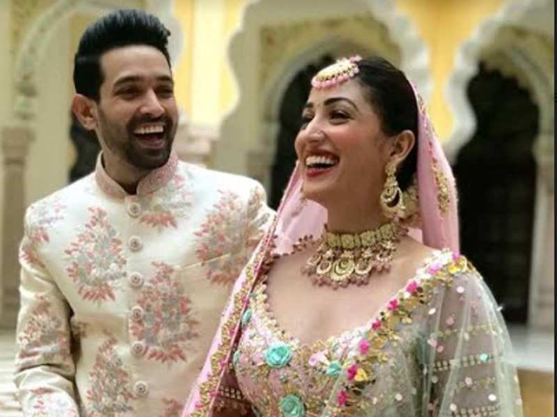 It S A Wrap For Yami Gautam And Vikrant Massey S Ginny Weds Sunny Hindi Movie News Times Of India