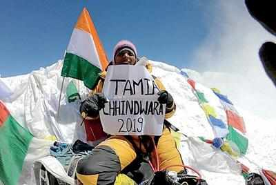 Image result for bhavana dehariya on mount kilimanjaro celebrate diwali