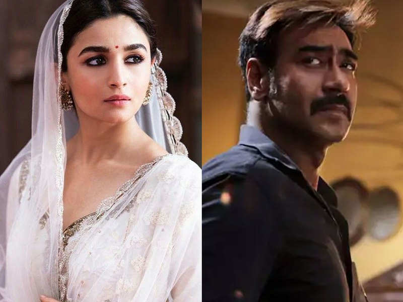 Alia Bhatt and Ajay Devgn