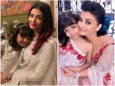 Times Aishwarya twinned with daughter Aaradhya