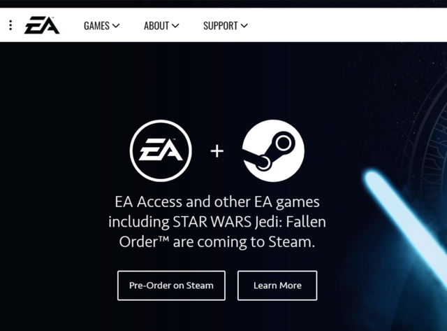 EA Games is back on Steam along with EA Access subscription service