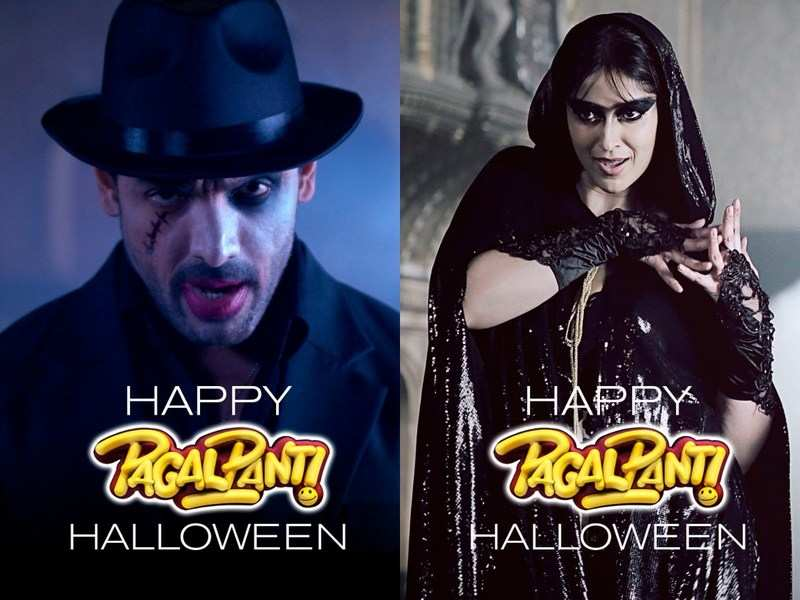 'Pagalpanti': Check out these spooky Halloween posters of John Abraham, Ileana D'Cruz and the entire team