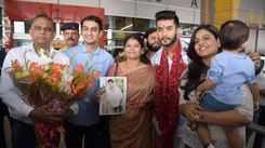 Varun Verma receives a warm Homecoming in Delhi