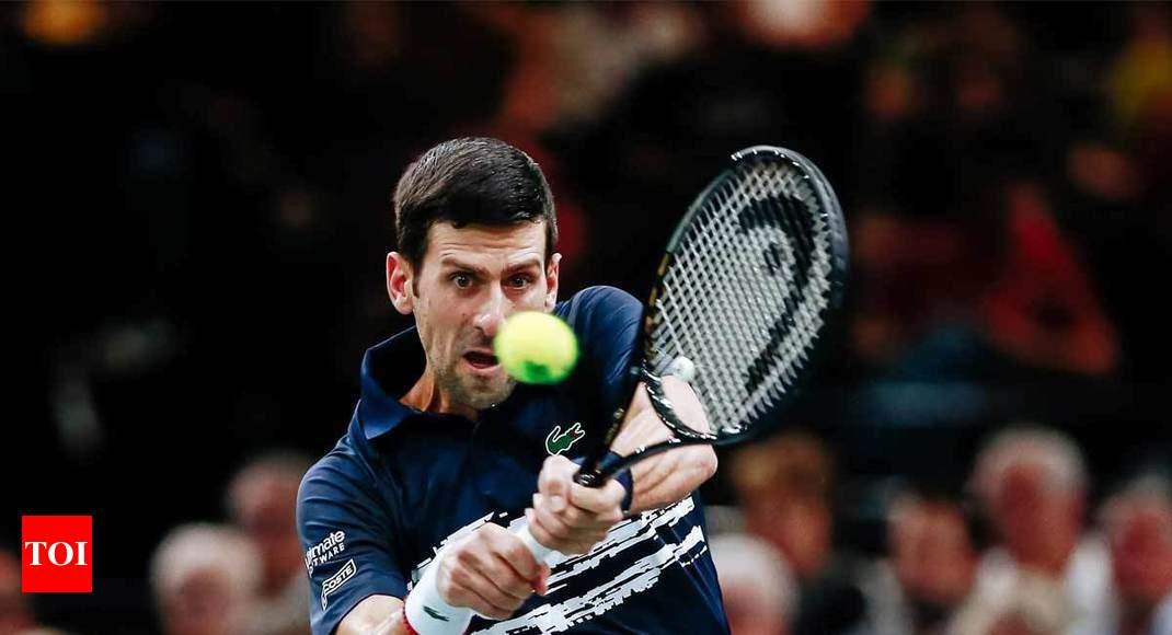 Djokovic sets up Paris Masters quarter-final with Tsitsipas thumbnail
