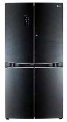 LG Frost Free 1001 L Side By Side Refrigerator (Gr-d35fbghl, Black)
