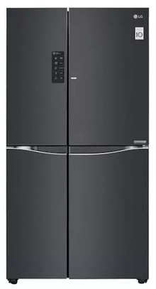 Lg Frost Free 679 L Side By Side Refrigerator Gc M247uglb Luminous Black Price Full Specifications Features 13th Apr 2021 At Gadgets Now