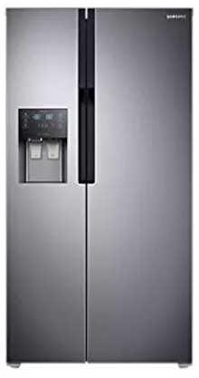 Samsung 586 L In Frost Free Double Door Refrigerator (RS51K5460SL, Easy Clean Steel)
