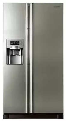Samsung Frost Free 585 L Side By Side Refrigerator (Rs21hutpn1, Platinum Inox)