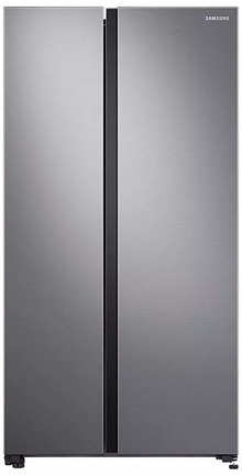 Samsung 700 L Inverter Frost Free Side-by-Side Refrigerator (RS72R5001M9TL, Gentle Silver Matt, SpaceMax Technology)