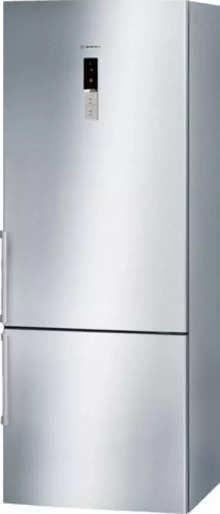 Bosch 505 L 2 Star Frost Free KGN57AI40I (Silver Inox)