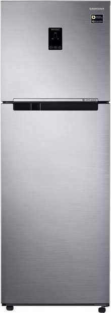 Samsung 345 L 3 Star Frost Free Double Door Refrigerator (RT37M5538S8/TL, Elegant Inox)