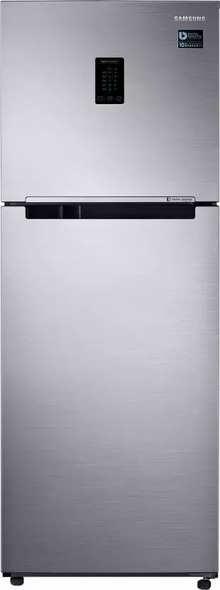 Samsung 324 L Frost Free Double Door 3 Star Refrigerator (Elegant Inox, RT34M5518S8/HL)