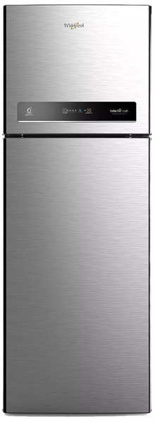 Whirlpool 360 L 3 Star Inverter Frost-Free Double-Door Refrigerator (IF INV CNV 375 ELT (3S), German Steel)