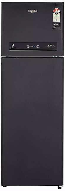 Whirlpool 292 L 4 Star Inverter Frost-Free Double Door Refrigerator (IF INV CNV 305 ELT BLACK SPARKLE (4S), Black Sparkle)