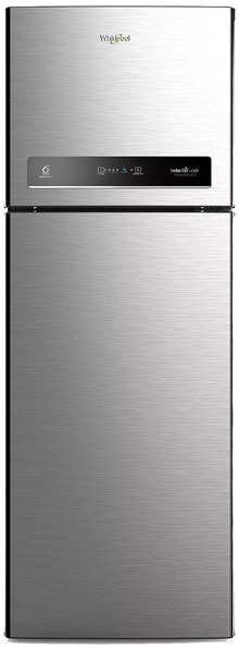 Whirlpool 265 L 4 Star Inverter Frost-Free Double-Door Refrigerator (IF INV CNV 278 ELT (4S), German Steel)
