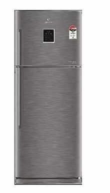 Videocon VZ293MESN Double Door Refrigerator 280 L 3 Star Rating (Silve)
