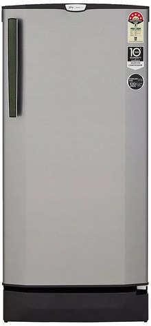 Godrej 190 L 5 Star Inverter Direct-Cool Single-Door Refrigerator (RD EPRO 205 TAI 5.2 SNY STL, Shiny Steel)