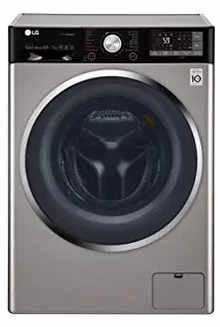 LG 10.5/7 Kg Washer & 100% Dryer with 6 Motion Direct Drive Ffront Load Washing Machine F4J9JHP2T