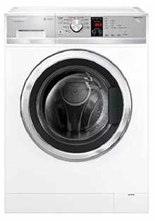 Fisher & Paykel WH8560J1 FP IN Fully Automatic Front-Loading Washing Machine (8.5 Kg, White)