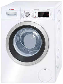 Bosch 8 Kg Fully Automatic Front-Loading Washing Machine (WAW24440IN, White)